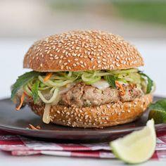 Thai Chicken Cheeseburger