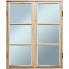 FÖNSTER SIDOHÄNGT 10X12 2-LUFT 1+1 OBEHANDLAT - Träfönster Obehandlat - Fönster - Dörrar & Fönster Bauhaus, Divider, Mirror, Room, Furniture, Home Decor, Corning Glass, Bedroom, Decoration Home