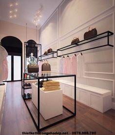 Ideas clothes shop design interior boutiques spaces for 2019 Fashion Shop Interior, Clothing Store Interior, Clothing Store Design, Boutique Interior Design, Boutique Decor, Showroom Design, Design Shop, Design Design, Design Commercial