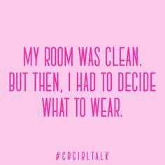Girl problems #CRGirlTalk