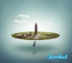 Recomendadisimo Tutorial Crear una micro ciudad con Photoshop