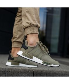 reputable site d897e e404b Adidas NMD R1 Olive Cargo Pack Trainer Sale