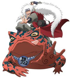 Jiraiya | Personagens de Naruto