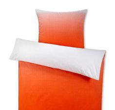 Obojstranná posteľná bielizeň z perkálu, oranžová, dvojlôžko Bed Pillows, Pillow Cases, Home, Pillows, Ad Home, Homes, Haus, Houses