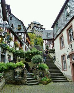 Encantador y magnetizante rincón en Palatinato, Alemania.