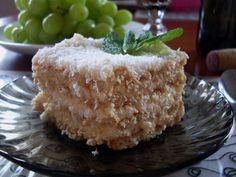 Delicious simple dessert ... rafaello on crackers