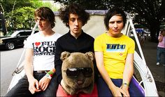 Quirky, Fun British band! these guys will always put on a good show! :) The Wombats