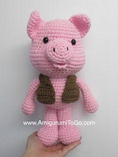 Pig Selfies and Updates ~ Amigurumi To Go