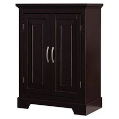 $178.00 Elegant Home Fashions Lorenzo Double Door Floor Cabinet E...