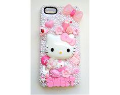 iPhone 5 - Pink kawaii SWEET deco phone case