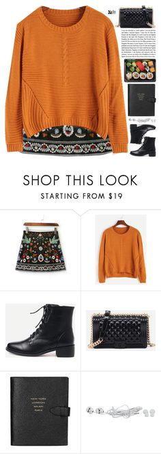 """""""sedated"""" by scarlett-morwenna ❤ liked on Polyvore featuring Smythson"""