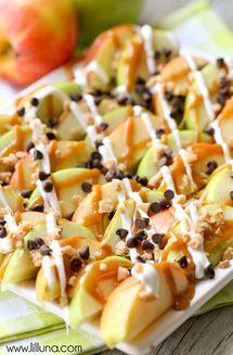 Host a Caramel Apple Tasting Party: Caramel Apple Nachos