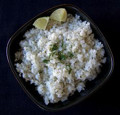 Lime Cilantro Rice - a copycat recipe from Chipotle 365 Days of Baking & More