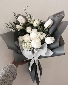 Ideas Flowers Bouquet Wrapping Floral For 2019 How To Wrap Flowers, Bunch Of Flowers, Pretty Flowers, Fresh Flowers, White Flowers, Floral Flowers, Florals, Art Flowers, Flowers Garden