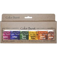 Color Burst Earth Tones 6 pack - Click Image to Close