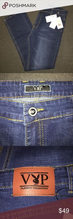 Playboy Collection VIP Men's Jeans Brand New with Tags. I'm not sure about the cut of the jeans, but it looks as if it is Straight or Slim Straight. Playboy Jeans Straight