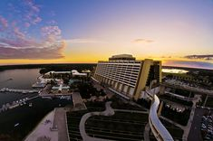 The Contemporary Resort at Walt Disney World. Reminds me of taking the monorail and of having dinner at Chef Mickey's (: - Photo by Tom Bricker (WDWFigment) on Flickr