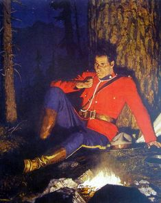 Vintage Images, Vintage Posters, Apocalypse, Hot Cops, Fur Trade, Canadian History, Men In Uniform, Le Far West, American Frontier