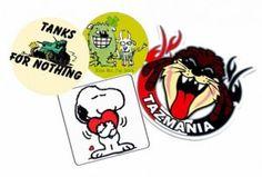custom stickers | printingray