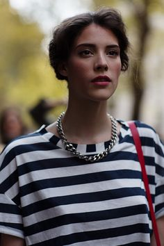 Love this recent pic from The Sartorialist taken at Dolce & Gabbana, Milan