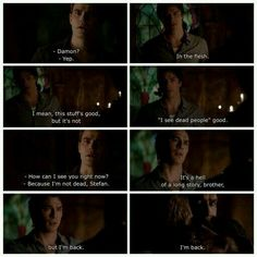 TVD Damon and Stefan when Damon came back from 1994