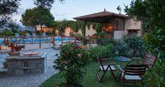 Agapi stone villa with wood, roof-tile and modern elements, Episkopi | Cretico