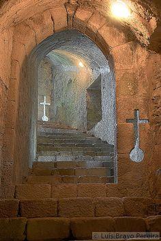 Tunnel - Castelo de Santa Maria da Feira, Aveiro, Portugal.