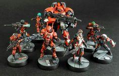 Infinity army!