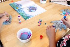 """This rainbow fish craft is the perfect companion to the beloved book """"The Rainbow Fish."""" It is so bright and colorful - kids love it! Rainbow Fish Bulletin Board, Fish Bulletin Boards, Rainbow Fish Crafts, Beloved Book, Sunday School Crafts, Home Health, Kindergarten, Connection, Homeschool"""
