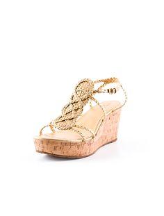 Kate Spade Cork Wedge Sandal