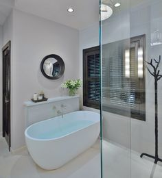Before U0026 After: A Traditional, Builder Grade Bathroom Is Made Modern By  Carla Aston
