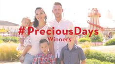 The Roberts family! #PreciousDays winners part 3!