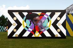 Satélite registra o maior GIF de arte urbana do mundo no Rio de Janeiro | ArchDaily Brasil