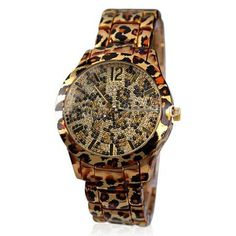 La Mia Cara Jewelry - Farina - Charming Leopard Stainless Steel Watch