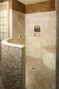 glassless walk in shower - Google Search
