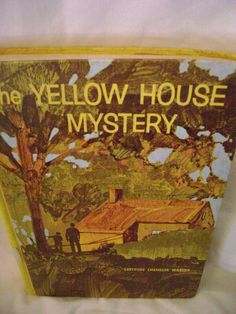 The Yellow House Mystery (Boxcar Children) The Alden Family Mysteries 1972 HC