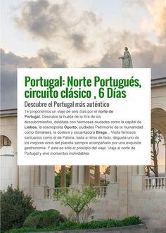 Norte de  Portugal 6 días, circuito clásico #portugal