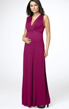 Knitted Maternity Evening Dress