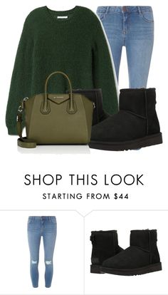 """""""Sans titre #53"""" by minii92 on Polyvore featuring mode, Dorothy Perkins, UGG et Givenchy"""