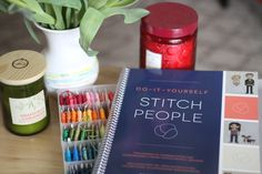 The DIY Stitch People book is a perfect complement to your stitch kit