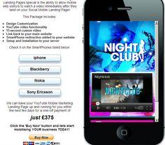 Nightclub example http://dwmc.mobi/socialmobile/nightclub/index.html