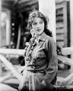 Silent film star Olive Borden, 1927, in a publicity photo for the lost film The Country Beyond