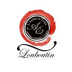 Design logo salon infrumusetare - Louboutin, realizat de logo1.ro #BeautySalonLogo #logodesign #crearelogo Logo Firma, Web Design Logo, Beauty Salon Logo, Corporate Identity, Logos, Romania, Salons, Branding, Website