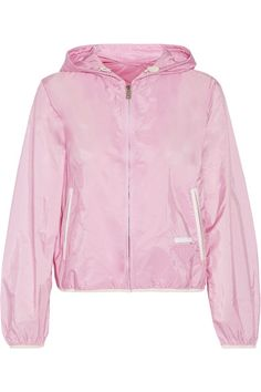 Prada - Hooded Shell Jacket - Baby pink - IT