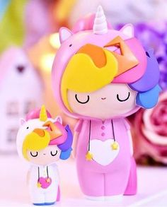 Litte Starlight Girl & Starlight Girl Very special dolls for 2016 by Momiji Permission to DREAM #unicorn #myunicornlife #limitededition #rainbows Instagram by pempikbulut