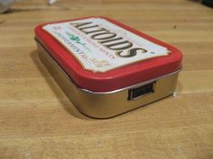 DIY Solar USB Charger - in a tin.