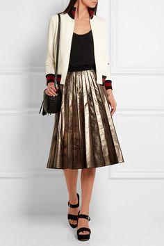 Gucci | Twill bomber jacket | NET-A-PORTER.COM