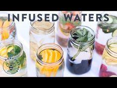 Fruit Infused Water: 8 Ways to drink more Water - Honeysuckle Detox Drinks, Healthy Drinks, Healthy Eating, Healthy Recipes, Healthy Foods, Diet Foods, Healthy Desserts, Healthy Tips, Drink Recipes