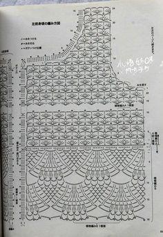 Fabulous Crochet a Little Black Crochet Dress Ideas. Georgeous Crochet a Little Black Crochet Dress Ideas. Gilet Crochet, Crochet Tunic, Crochet Jacket, Crochet Clothes, Crochet Tops, Crochet Diagram, Crochet Motif, Crochet Doilies, Crochet Stitches