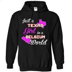 Texas-Belgium Girl - #casual shirts #army t shirts. BUY NOW => https://www.sunfrog.com//Texas-Belgium-Girl-1113-Black-Hoodie.html?60505